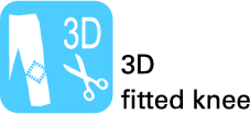 3D fitted knee