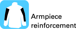 Armpiece reinforcement