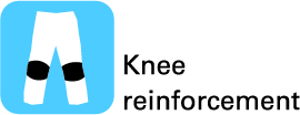 Knee reinforcement